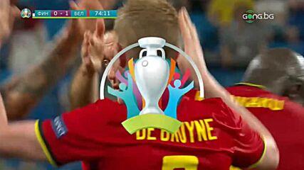 Автоголът на Храдетски срещу Белгия