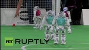 В Германия подготвят футболно първенство с роботи през 2050 г.
