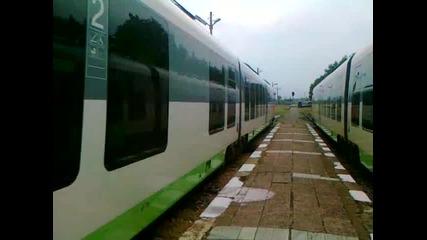 Бв 6623 пристига на гара Кюстендил