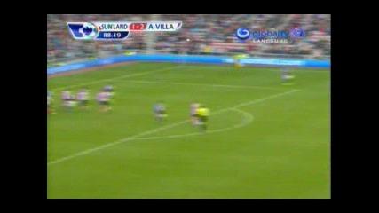 Феноменален гол и асистенция на Стилиян Петров ! Sunderland - Aston Villa 2:2, 29.10.2011
