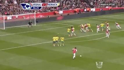 Arsenal 3 - 3 Norwich City