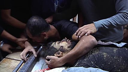 State of Palestine: Family mourns 25-y/o killed in Israeli airstrike *GRAPHIC*