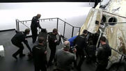 At Sea: SpaceX Crew Dragon rescued and recovered off Florida coast after nighttime splashdown