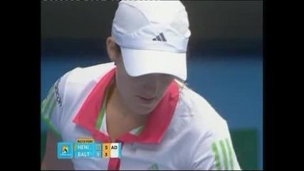 """Вожняцки и Енен се класираха за третия кръг на """"Australian Open"""""""