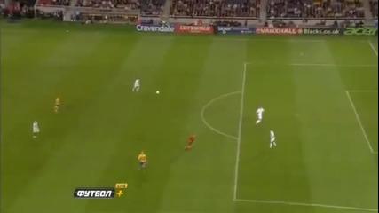 Ибрахимович отбеляза голът на сезона!!!