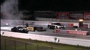 Mercedes Slr Renntech vs. Nissan Gtr - Drag Race