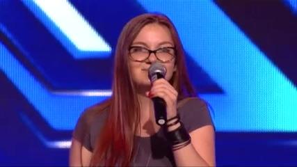 Цветелина Иванова - X Factor (09.09.2014)