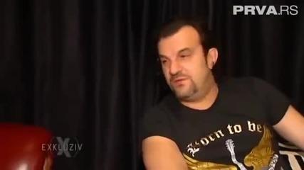 Aca Lukas i Ceca - Reportaza sa snimanja nove pesme Ne zanosim se ja - Exkluziv (Prva TV 2014)