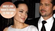 Аджелина Джоли обвинява Брад Пит, че не плаща издръжка за децата