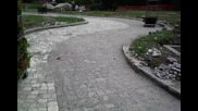 Редене на тротоарни плочки,гранитен паважи и бордюри