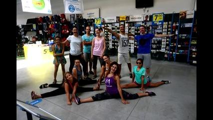 Dance Yoga с Фам – открита тренировка в Декатлон