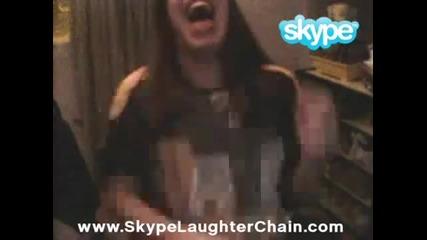 Най - добрата за верига за смях на Skype
