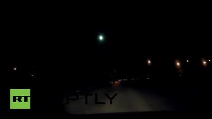 Thailand: Meteor or Aliens? Huge fireball lights up sky over Bangkok