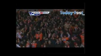 Blackpool 2 - 3 Manchester United (25th January 2011) 2 gola na berbatov!