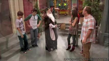 Сезон!! Wizards Of Waverly Place - Season 4 Episode 1 - Alex Tells The World - Part 2/2