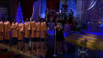 (hd) Mariah Carey - O Little Town of Bethlehem Little Drummer Boy (live Abc Christmas Special)