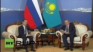 Kazakhstan: Medvedev and Nazarbayev talk economic ties in Burabay