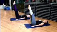 Лесни упражнения за стегнати бедра