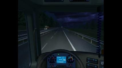 Ets drive Man Tga in Romania
