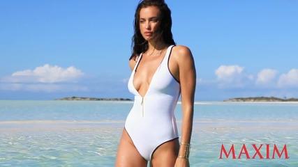 On Location in the Bahamas With Irina Shayk