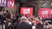 UK: Corbyn and Khan hold final Labour 'Remain' rally ahead of Brexit vote