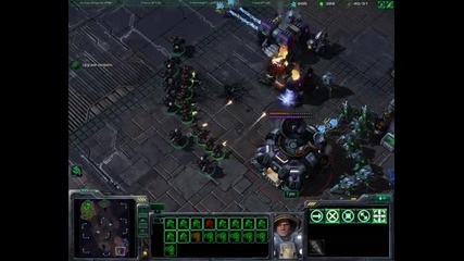 Starcraft 2 Multiplayer Gameplay