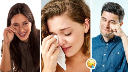 5 ситуации, в които да се разплачете, е най-добре за здравето ви!