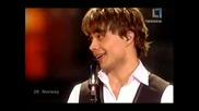 Победител в Eurovision 2009 Норвегия - Alexander Rybak - Fairytale + Превод (рекорден победидел)387т