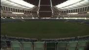 Уникалко светлинно шоу на стадион Mozez Mabhida