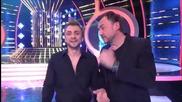 Любо Киров на квадрат на сцената на Като две капки вода (14.04.2014г.)