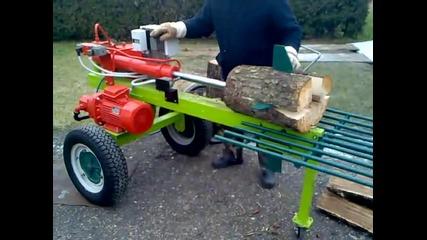 Цепенето на дърва вече не е толкова тежка и неприятна работа! Ето как става!