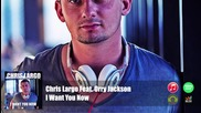 Chris Largo Feat. Orry Jackson - I Want You Now ( Official Audio)