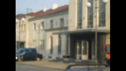 Гара Плевен предна фасада