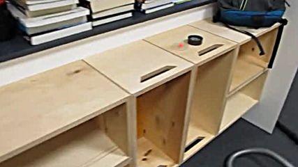 Дървени щайги и обзавеждане