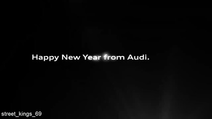 Audi R8 - Happy New Year