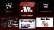 Rusev Doesn't Like Rock 'n' Roll - Wwe Raw Slam of the Week 5/19