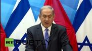 "Israel: Netanyahu calls Iran nuclear deal ""a historic mistake"""