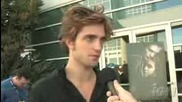 Interview Kristen Stewart,  Robert Pattinson,  Cam Gigandet,  Edi Gathegi,  Taylor Lautner,  Stephen