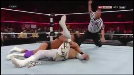 Damien Sandow Terminus On Sin Cara