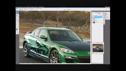 Photoshop Virtual Tuning Mazda Rx8