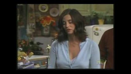 Friends - Joey gets stuck on Monicas door