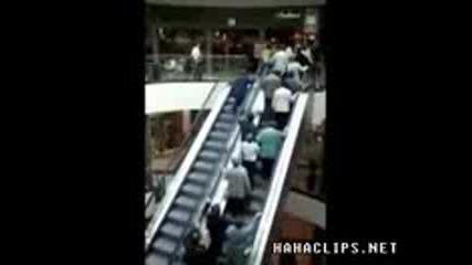 escalator - смях