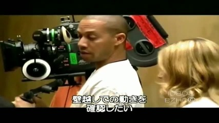 Britney Spears & Madonna - Making The Video - Me Against The Music Part 1