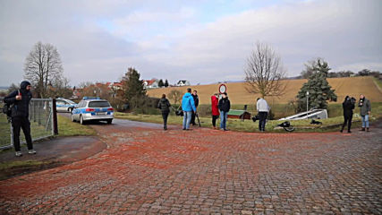 Germany: Icy road probable cause of bus crash that killed 2 children