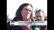 Сесилия Малмстрьом на Капитан Андреево: Свършили сте отлична работа