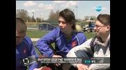 Български деца се учат да играят бейзбол в САЩ - Здравей, България (19.05.2014г.)
