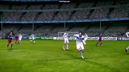 Lionel Messi Vkara gol na Pes 2011