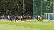 Russia: Hazard, Lukaku and co. train ahead of Belgium's Brazil clash