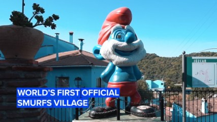 Love the Smurfs? Then you've gotta check out this Spanish village