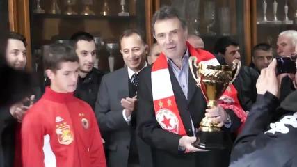 Спас Джевизов е новият директор на ДЮШ на ЦСКА